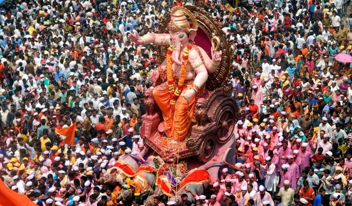 Ganesh-idol immersion