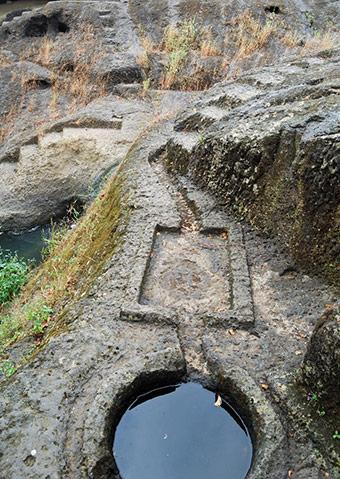 Rainwater Harvesting system Kanheri Caves