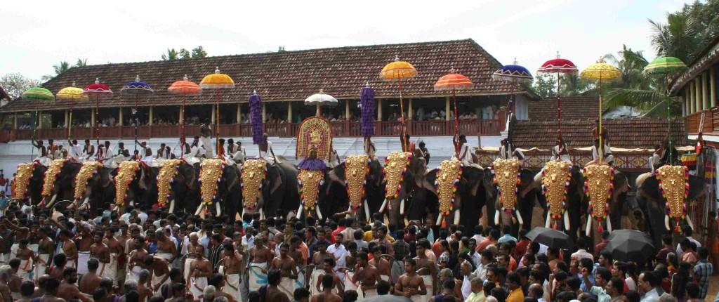 elephant-parade-kerala-festivals