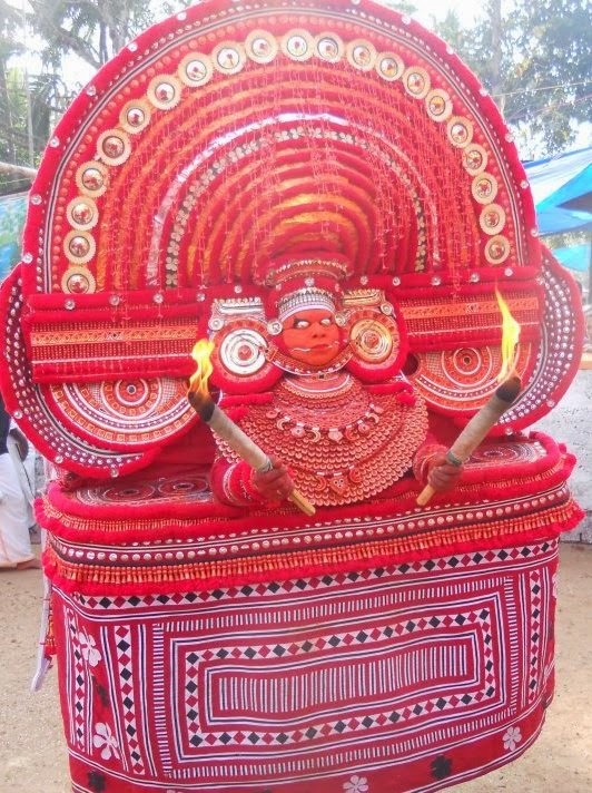 SREE MUCHILOTTU BHAGAVATHI Theyyam
