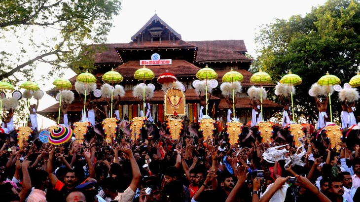Thrissur India  city pictures gallery : Thrissur Pooram 2016 – Discovering India.Net
