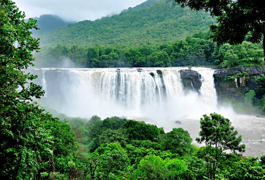 Waterfalls in Kerala. Waterfalls in Kerala look their best during monsoons.