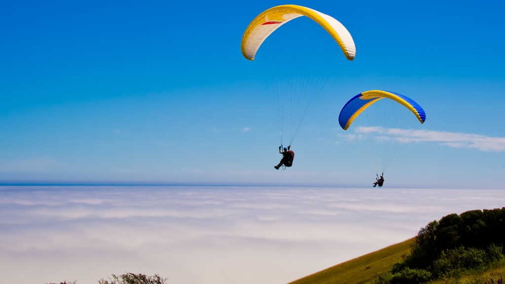 Paragliding at Kamshet