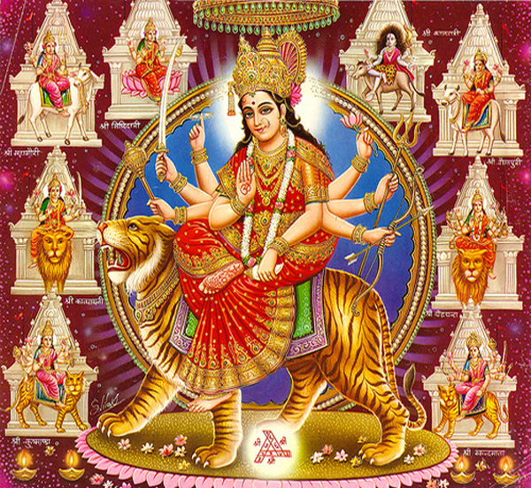 durga-various-forms