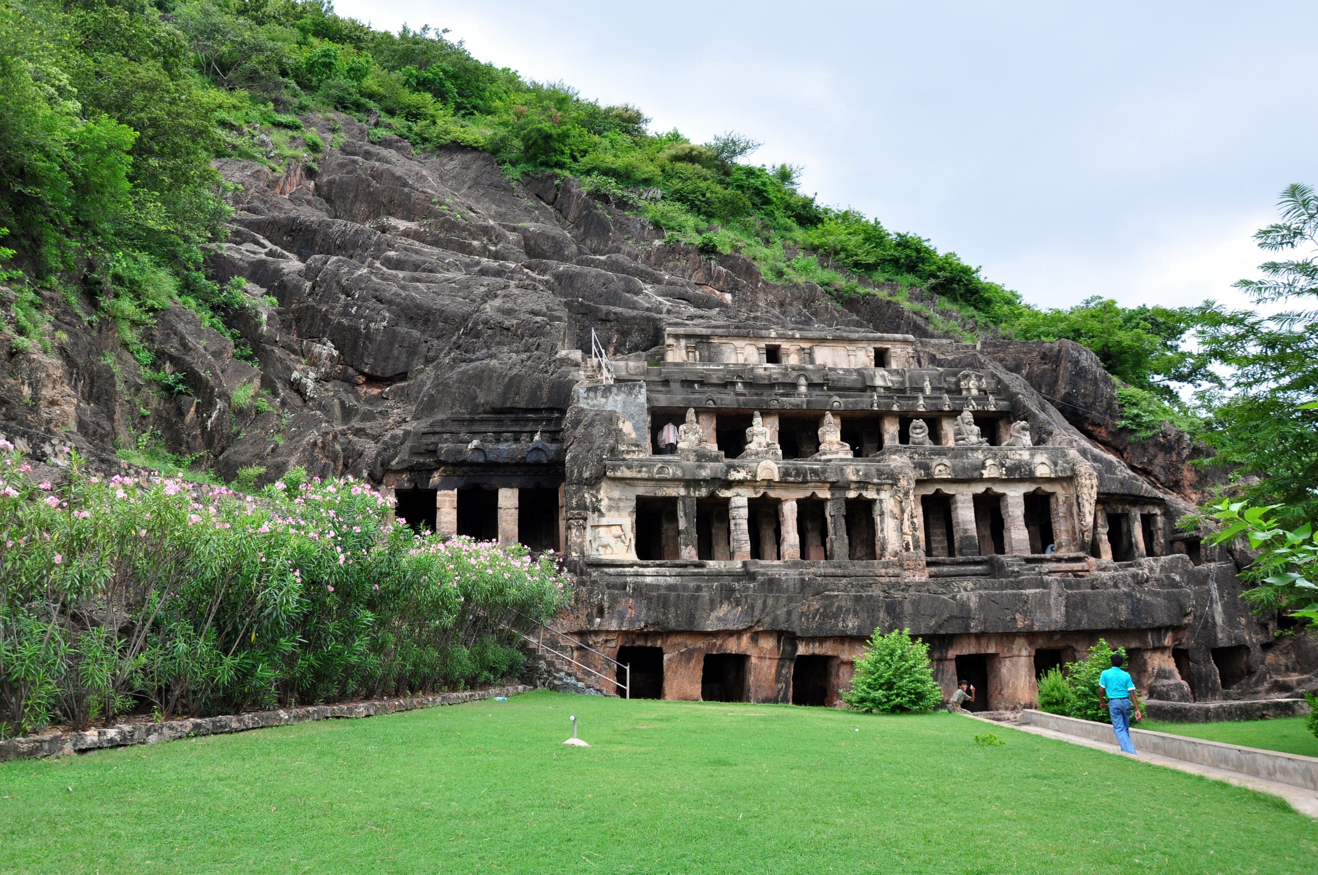 Ancient caves of Vijayawada
